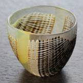 Japanese Sake Cup Hand-Made by Yoko Sano, Made in Japan, Shot Glass