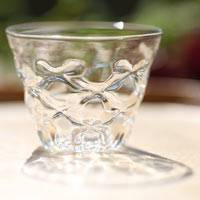 "Teacup Made of Heat Resistance Glass, ""Diamond"" Glass Cup 40ml, Made by Ryuta Mizukami"