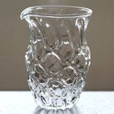 "Yuzamashi ""Diamond"", Heat-resisitance Glass, by Ryuta Mizukami, Free Shipping"