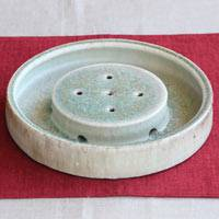 Ceramic Teapot Tray, Pottery Tea Tray, Pure Hand-made by Koichi Ohara, Free Shipping