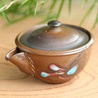 Wood-fired Houhin 100ml, Pure Hand-Made by So Yamada, Tokonameyaki,Gyokurocha Teaware