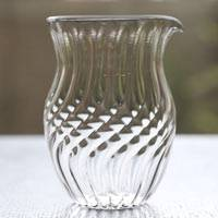 Glass Water Cooler, Yuzamashi, Heat-resisitance Glass, by Ryuta Mizukami, Sauce Pitcher