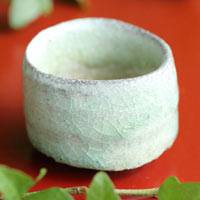Wood-fired Unglazed Yohen Pottery Cup 60ml, Pure Hand-made by Takeshi Shimizu, Sake Cup, Tanbayaki