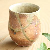 Manabu Minamide, Japanese Wood-fired Igayaki Yunomi, Green Tea Cup 210ml