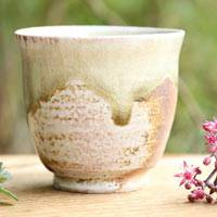 Manabu Minamide, Japanese Wood-fired Igayaki Small Sencha Yunomi, Green Tea Cup 90ml