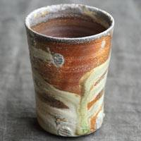 Manabu Minamide,  Igayaki wood-fired youhen cup, yunomi, tea cup, rocks glass 220ml