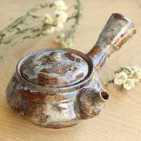Small Japanese Kyusu 200ml, Pure Hand-made by Atsushi Kobayashi, Japanese Style Green Tea Teapot