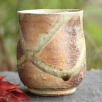 Manabu Minamide, Wood-fired Igayaki Yunomi, Green Tea Cup 250ml, Yunomi