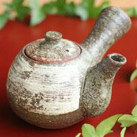 Can Directly Boil Water and Simmer Tea Teapot, Pure Hand-made by Tadasaku Ichino 300ml