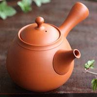 Tokonameyaki Shudei(Red Clay) Teapot 360cc, Green Tea Teapot. Direct Shipping from Japan