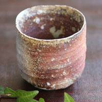 Igayaki Wood-fired Pottery Cup, Made by Manabu Minamide, Direct Shipping from Japan