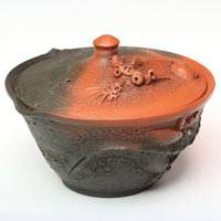 Tokonameyaki Dragon Houhin 190ml, Shiboridashi by Motozo, 100cc Pure Hand-made in Japan, Gaiwan
