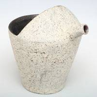 Pottery Water Cooler 200ml, Yuzamashi, Pure Hand Made by Yusuke Wakasa, Sake Pitcher