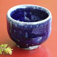 Salt Glazing Cup 80ml, Tanbayaki Wood-fired Pottery,Pure Hand-made by Takeshi Shimizu, Small Teacup