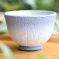 Kokumon Pattern Tanbayaki Cup, Pottery Cup 80ml, Pure Hand-made by Takeshi Shimizu