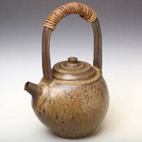Can Directly Boil Water Pottery Kettle 900ml, Made by Yusuke Wakasa, Dobin