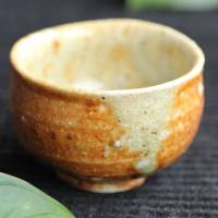 ​Kenji Kojima, Japanese Igayaki extra-small yunomi tea cup 30ml, small chahai, wood box