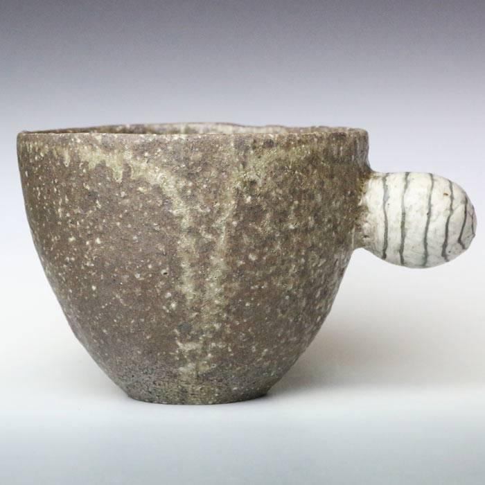 ware Coffee Mug Stripe Kutani Yaki