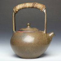 Yusuke Wakasa, can directly boil water simmer tea pottery teapot 800ml, fire resistant kyusu