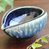 Wood-fired Salt Glazing Water Cooler 300ml, Tanbayaki Yuzamashi, Hand-made by Takeshi Shimizu