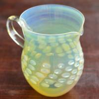 Ryuta Mizukami, Moon color yuzamashi/water cooler, pitcher made by heat-resisitance glass