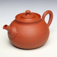 So Yamada, red-clay teapot back handle type 150ml, Tokonameyaki sencha gyokurocha kyusu