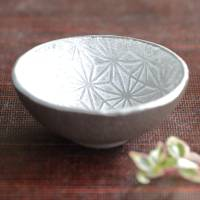 Seiji Itoh, one silver glaze small tea cup M size 30-40ml, chinese tea teacup, premium sencha teacup